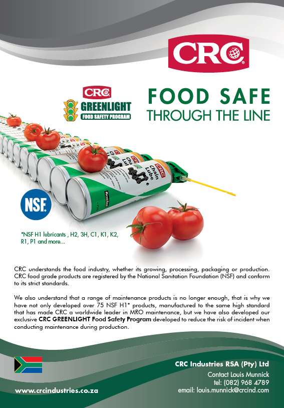CRC Industries - Food Safe through the line