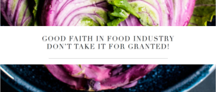 Food safety is the most fundamental food compliance issue